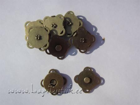 Õmmeldav magnettrukk 14 mm