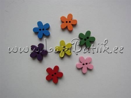 Lille-kujulised nööbid